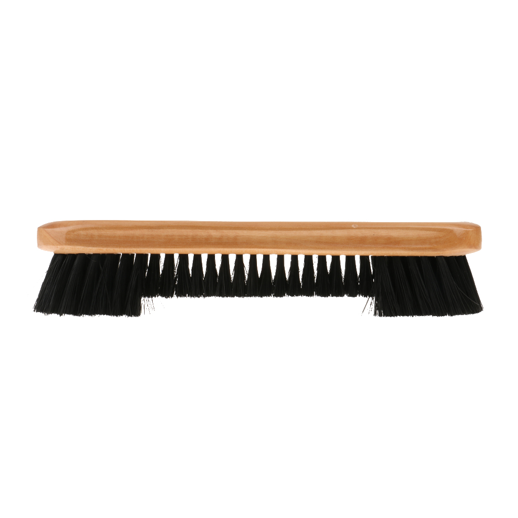 Deluxe Wood/PVC Brush Rail Brush Pool Snooker Cue Cloth Rail Cleaner Brush Billiard Accessories Table Billiard Cleanning Tool