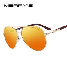 Merry's дизайн Для мужчин/Для женщин классический пилот поляризационные Солнцезащитные очки 100% УФ-защитой s'8058