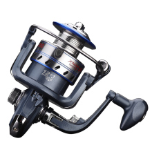 Portable Fishing Reel 12+1 Left /Right Interchangeable Fishing Spinning Reel 5.5:1 High Speed River Gear Sea Fishing Tool