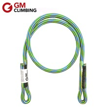 GM CLIMBING Rope 8mm Outdoor Climbing Equipment 30inch 24 Strand Lifting Sling Rappelling Mountaineering Rescue Prusik Loop цена 2017