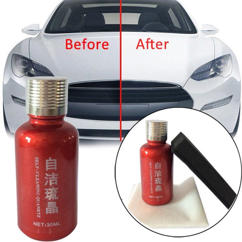 100%new Polysiloxane and Nano materials 9H Car Oxidation Liquid Ceramic Coat Super Hydrophobic Glass Coat Paint Care Multicolor