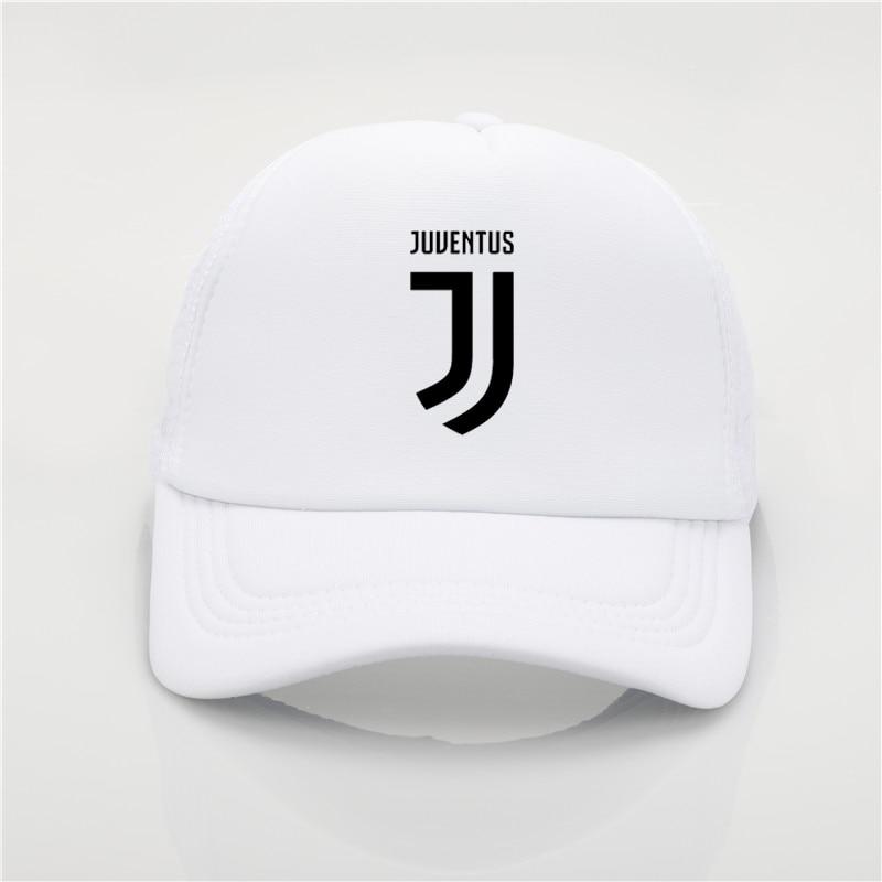 c9cb5da874 fashion hat Juventus printing net cap baseball cap Men and women Summer  Trend Cap New Youth Joker sun hat Beach Visor hat-in Baseball Caps from  Apparel ...