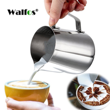 Style Espresso Coffee Milk Mugs Cup Pots Jug Handle Craft Garland Latte Thickened Stainless Steel