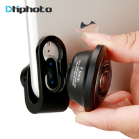Camera Lens For IPhone 238 Degree Super Fisheye Lens 0 2X Full Frame Wide Angle Lens