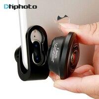 Camera Lens For IPhone 238 Degree Super Fisheye Lens 0 2X Full Frame Wide Angle Lens