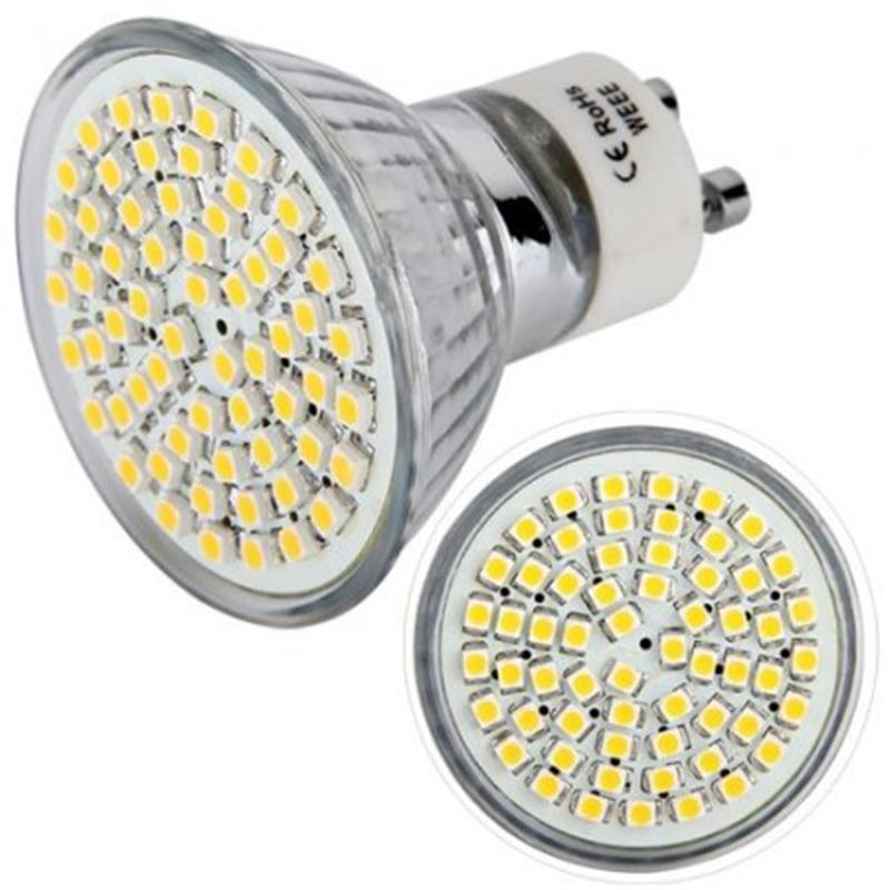 Mr16 Led Bulb 3w Led Warm White 110V 220V Bombillas LED Lamp Spotlight Cfl Lampara E27 MR16 GU10 Glass 60led 2835 1PCS JTFL001-1