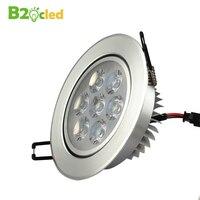 מכירה גדולה מודרני סופר מואר שקוע LED Downlight הוביל כתם אור מנורת תקרת LED קישוט אור 110 V 220 V 3 w 5 w 7 w 9 w 12 w