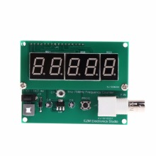 цена на 1Hz-75MHz Frequency Counter 7V-9V 50mA Cymometer Module Tester Meter Frequency Meters Tools