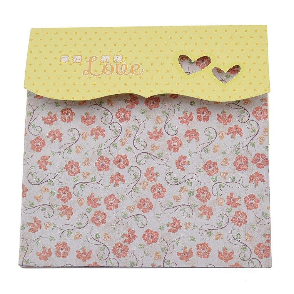 How to make scrapbook paper designs - Lychee 72 Sheets Square Origami Folding Paper Craft Diy Handmade Scrapbooking Art Photo Album Designer Making Paper Pad Random