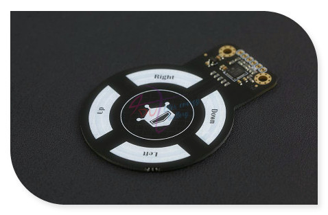 DFRobot 3D Gesto Mini Sensor, 3.3 ~ 5 V Interfaz I2C detectar giro/movimiento compatible con Arduino para proyectos interactivos