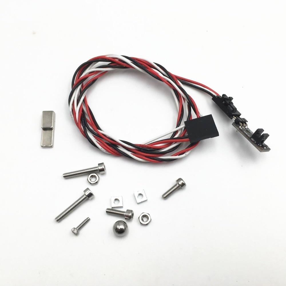 Mk2.5/Mk3 Para Mk2.5s/Mk3s 3D impressora IR Sensor de Atualização Filamento Filamento Preso Detecção Sensor Para Prusa i3 MK3 3D Peças Da Impressora
