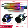 New Arrival Bigger 570MM Length Neo Chrome Hi Power Universal Exhaust Pipe Racing Muffler Tip Car Exhaust Pipe RS-CR1003