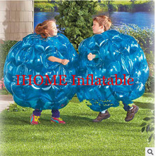 2pcs 0 9m PVC Inflatable Body Zorb Ball Bumper Ball for children Bubble Soccer Bubble font