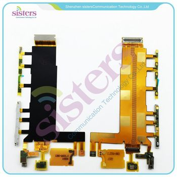 10PCS Wholesale Volume Key+Power on/off button+Microphone Flex Cable For Sony Xperia Z3  D6603 D6643 D6653 Free Shipping