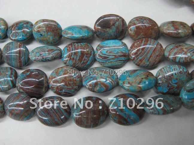Цветочный узор Агат e свободные Бусины 15*20 мм овальный камень драгоценный камень украшения из бисера 40 см/string