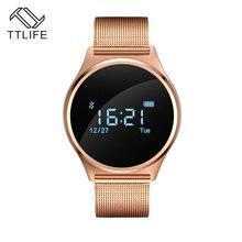 TTLIFE bluetooth скорость Мониторы SmartWatch с HD Сенсорный экран Поддержка карты памяти SmartWatch для iPhone Android Поддержка многоязычный