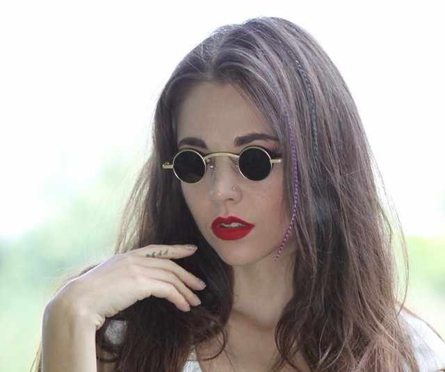 Célèbre Dimshow 2017 new mode gothique steampunk petites lunettes de  AM62