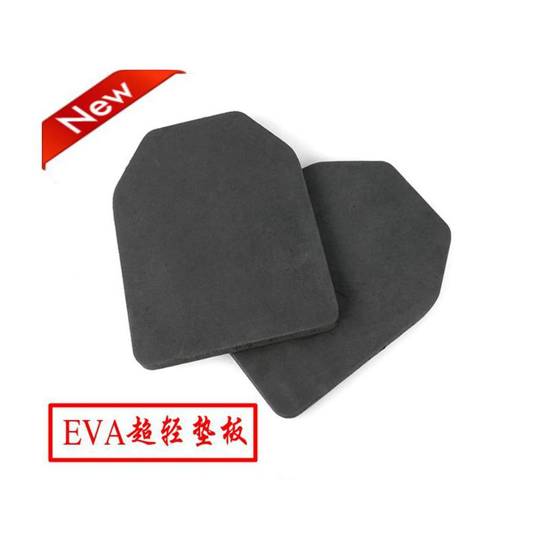 2pcs Airsoft Wargame Tactical Soldier Gear EVA Body Carrier Vests SAPI Shock Plate Dummy Foam Hunting Vest 2cm Armor Plates