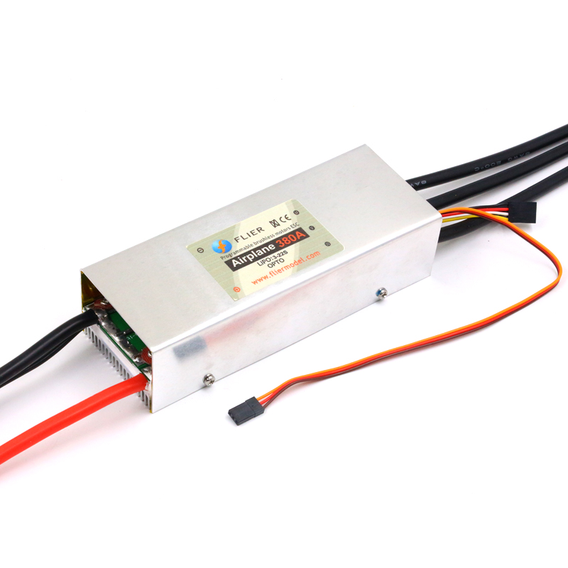 FATJAY FLIER 380A 2-22S High Voltage ESC Brushless  Speed Controller With USB Program Cable For Airplane Paramotor Paraglider