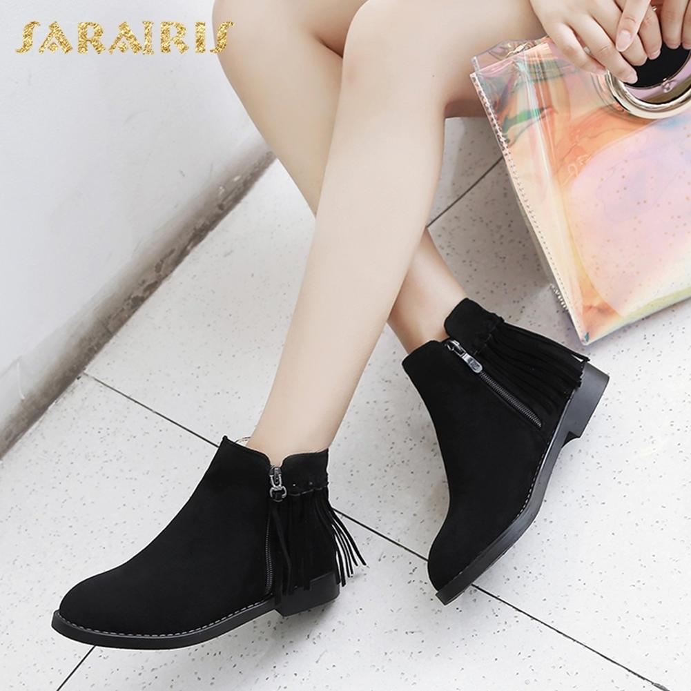 c01e6a01 Flecos Up Sarairis Al Por Zip marrón Ocio Zapatos Cortas Botas Mujer Nueva  Mayor Negro Moda x0qZ1