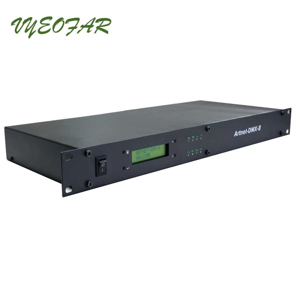 Ltech ArtNet DMX 8 Led Controller