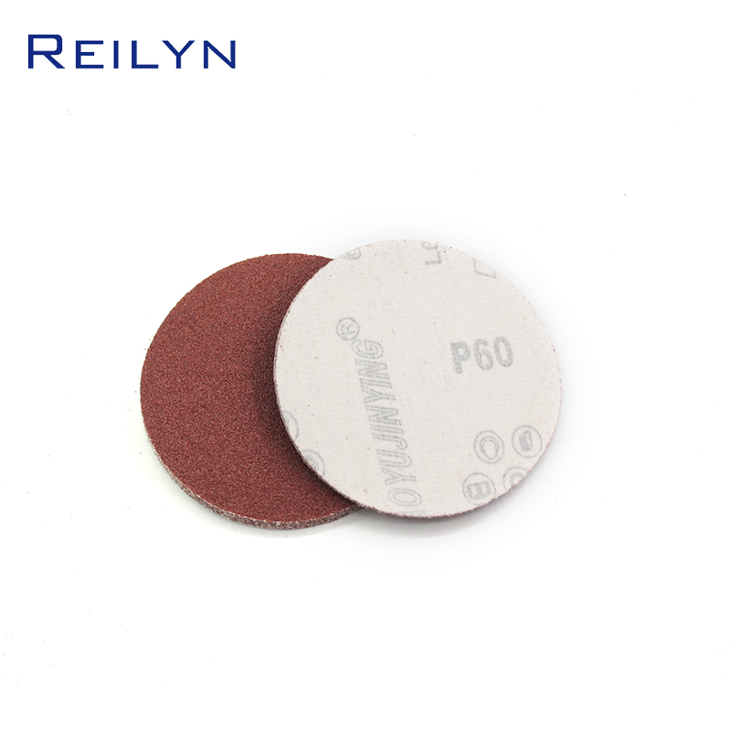 4 Inch Flocking Sandpaper Red Polishing Peeling Sandpape High Quality Good Wear Resistance Grinding Wheel Special Sandpaper