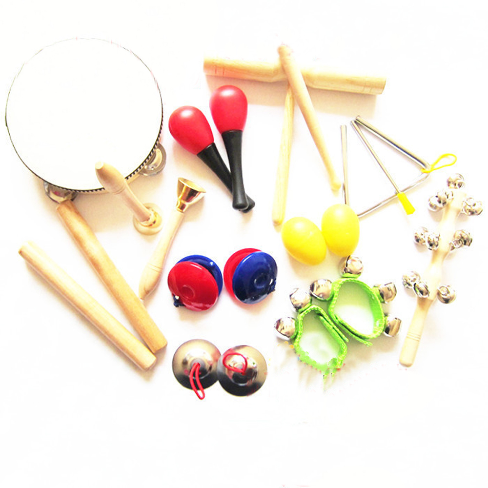 Musical Instruments Toys : Orff instruments kits children percussion toy musical