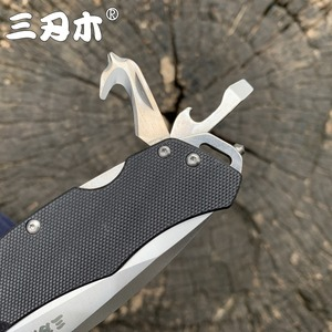 Sanrenmu 9018 карманный складной нож 12C27 лезвие утилита EDC многоцелевой инструмент подарок открытый охотничий Походный нож для выживания s CS GO