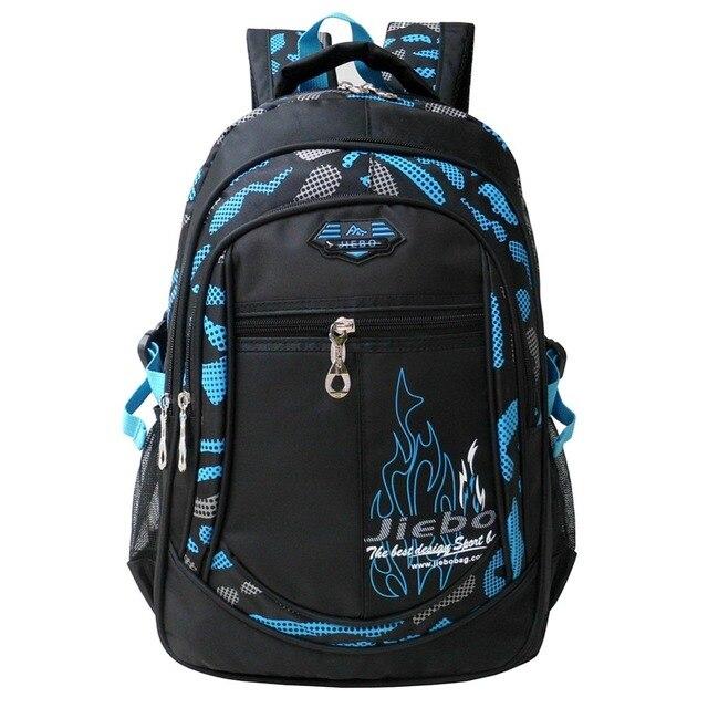 Waterproof Backpacks for Boys Primary school backpack Lighten Burden On Shoulder  Breathable printing Travel bag Large Capacity a46a78608c