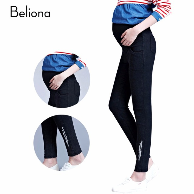 Autumn Spring Maternity Pants for Pregnant Women High Waist Pregnancy Clothes Plus Size Women's Clothing Maternity Clothes