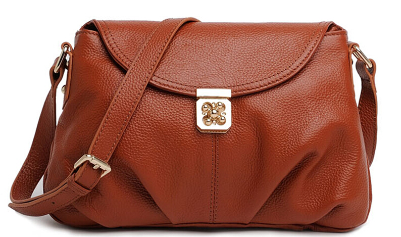 Fashion font b Women b font Leather Handbags Real Genuine Leather font b Women b font