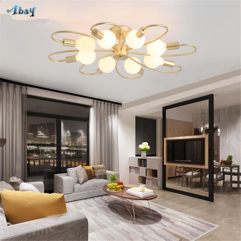 Nordic Blooming Flowers Ceiling Lights for kitchen coffee Minimalism living room lights creative dining room led ceiling lampNordic Blooming Flowers Ceiling Lights for kitchen coffee Minimalism living room lights creative dining room led ceiling lamp
