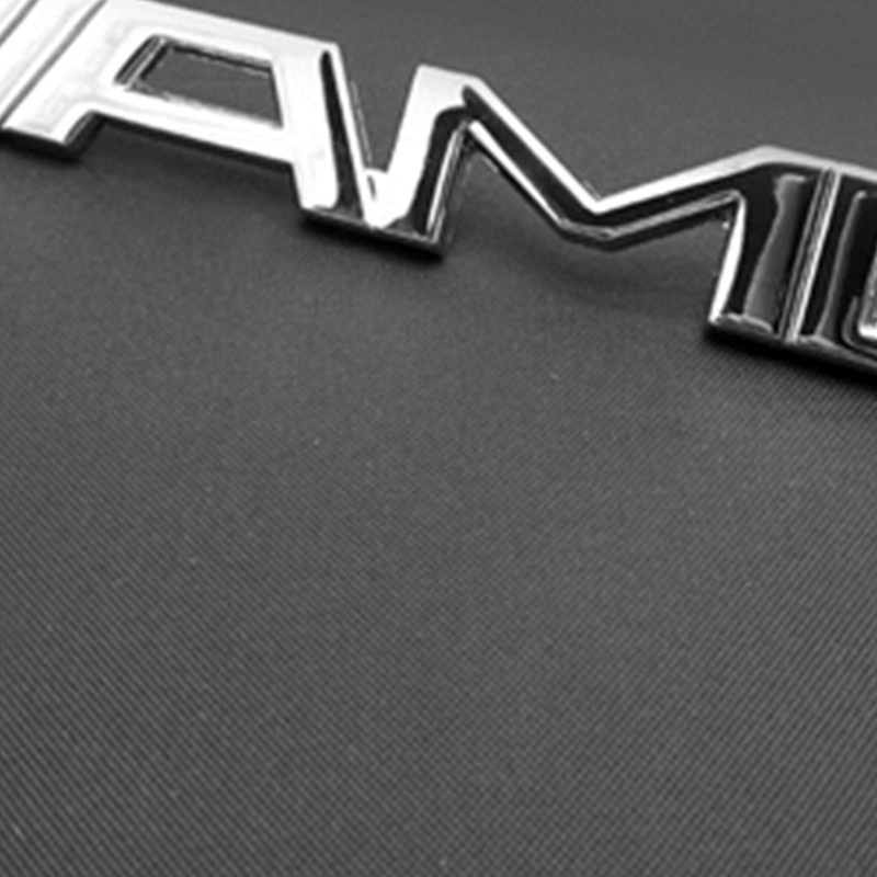 3D ABS Alloy car VRS grill emblem RS for Mercedes-Benz AMG Gs
