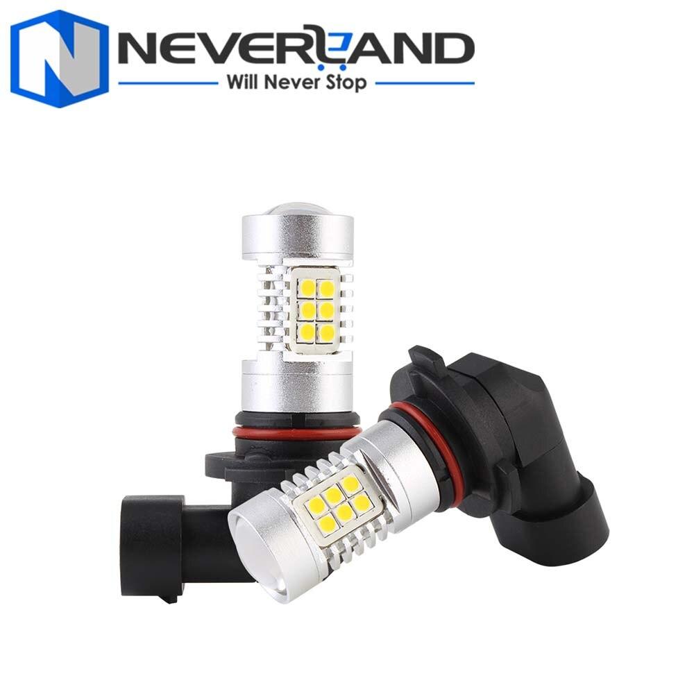 3000K Yellow 9005/HB3 44W/set Auto Car LED Light Fog Lamps Headlights 330lm Bulbs Driving Fog Light DRL D30