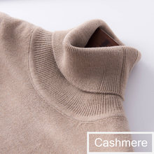 2019 autumn winter cashmere sweater female pullover high collar turtleneck sweater women solid color lady basic sweater(China)