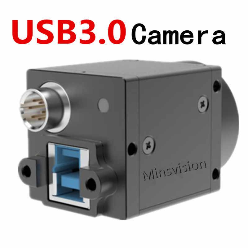High speed USB3 0 digital camera 1 3MP color CMOS industrial vision camera  +SDK global shutter machine vision1280X1024@240FPS