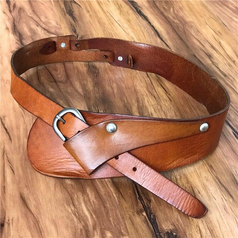 Genuine Leather Wide   Belts   For Women   Belts   Cummerbunds Ceinture Femme Cinto Feminino Ladies Vintage Cowgirl   Belt   Female BTW0043