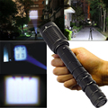 Super Bright 2000lumen Portable  XML T6 LED Flash light Torch 5 Mode Zoomable Flashlight Torch For Camping by 2x18650