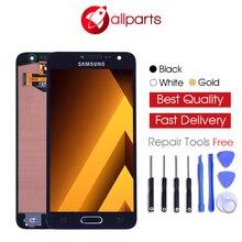 Лучшие Оригинальный 4,5 »Super AMOLED ЖК-дисплей для SAMSUNG Galaxy A3 2015 Дисплей A300 A300H A300F A300FU Сенсорный экран планшета замена
