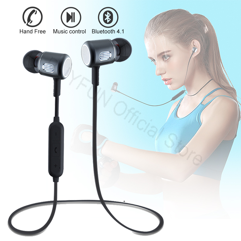 In-ear Bluetooth Earbuds TWS Earphone Wireless Sport Music Headset For Apple iPhone Samsung Xiaomi Android Magnetic Head phone