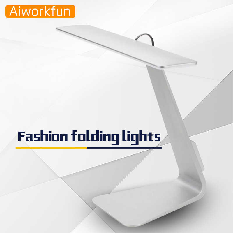 iPixel Fashion Style Ultrathin led desk lamp USB charging 800mA chargeable table lampe high brightness and long life lamp