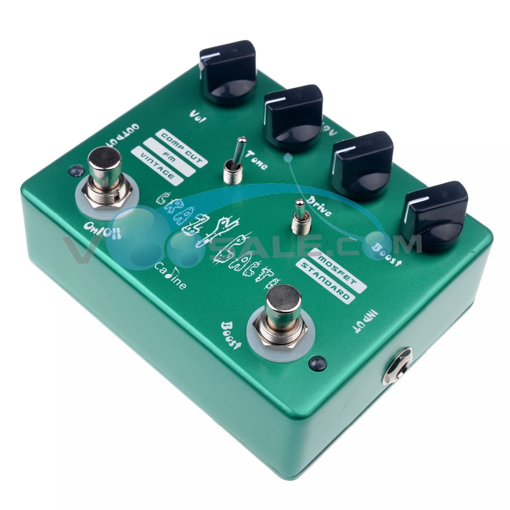 Caline CP-20 Crazy Cacti Overdrive Гитара әсері - Музыкалық аспаптар - фото 4