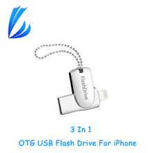 LL TRADER iOS OTG USB Flash Drive USB 2.0 128GB For iPhone iPad iPod Android Storage USB Stick Memory Pen drive Flash Drive 64GB