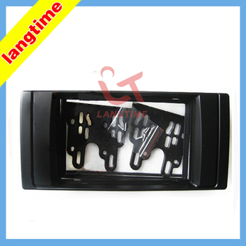 Car refitting DVD frame,DVD panel,Dash Kit,Fascia,Radio Frame,Audio frame for 95-03 BMW 5 (E39), X5 (E53), 2DIN image