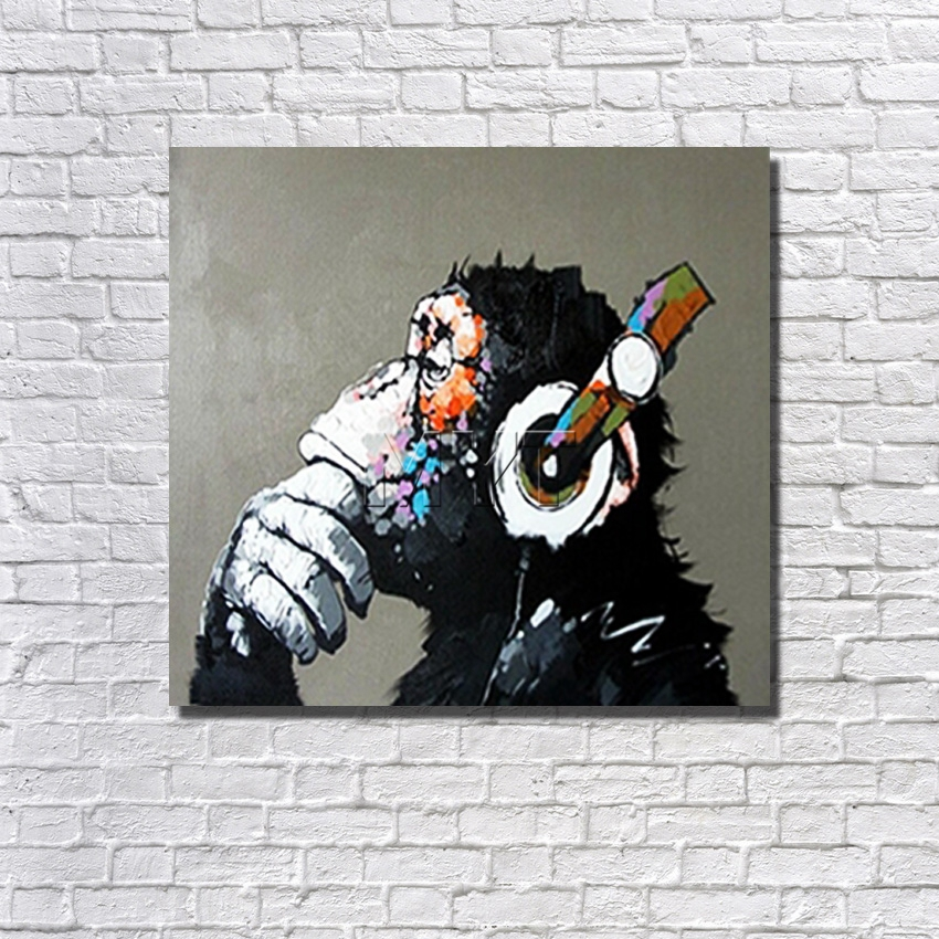 Chinese Animal Painting Modern Pictures on Canvas High Quality Pictures for Home Decor with Framework Painting Art Hot Sale