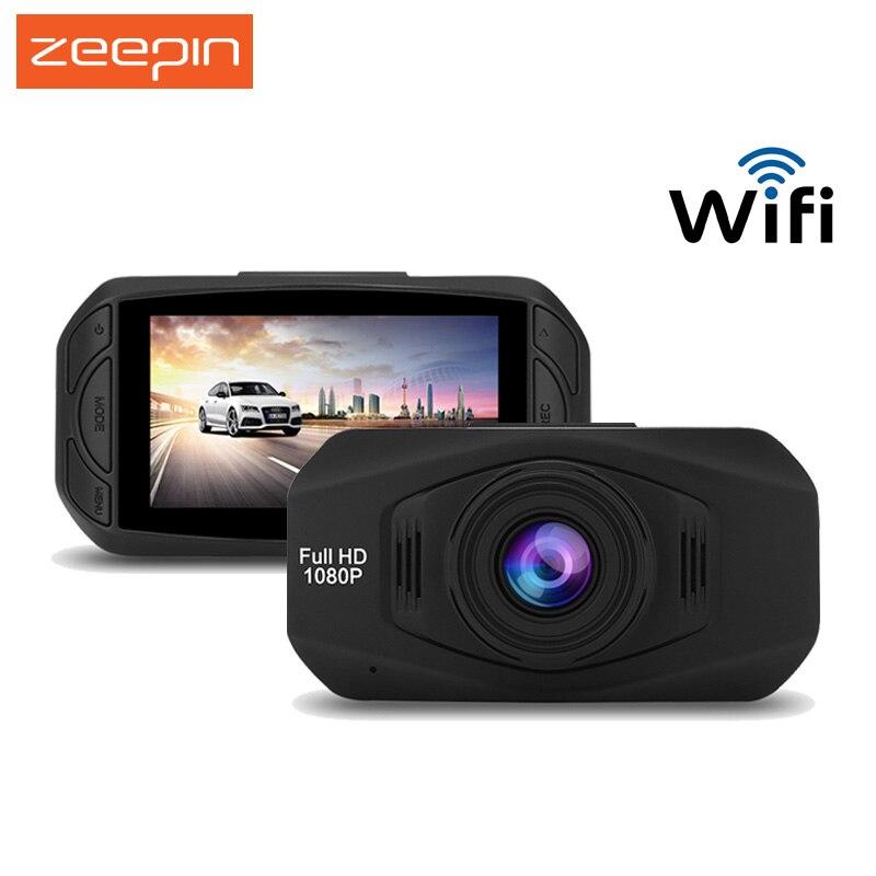 ZEEPIN R800 WiFi Car Hidden Dash Cam Car DVR 2.5 inches 1080P Full HD WDR Portable Car Driving Video Recording