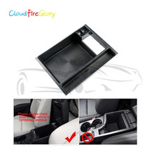 CloudFireGlory For Mazda CX-5 2013 2014 2015 Front Central Armrest Storage Tray Bin Box цена и фото