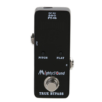 Hot Sale Mighty Sound PT 06 Micro Tuner Chromatic Pedal Guitar Tuner Effects Pedal Guitar Parts