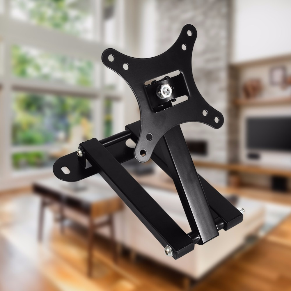 10 26 Lcd Led Tv Pc Monitor Wall Mount Bracket Corner Tilt