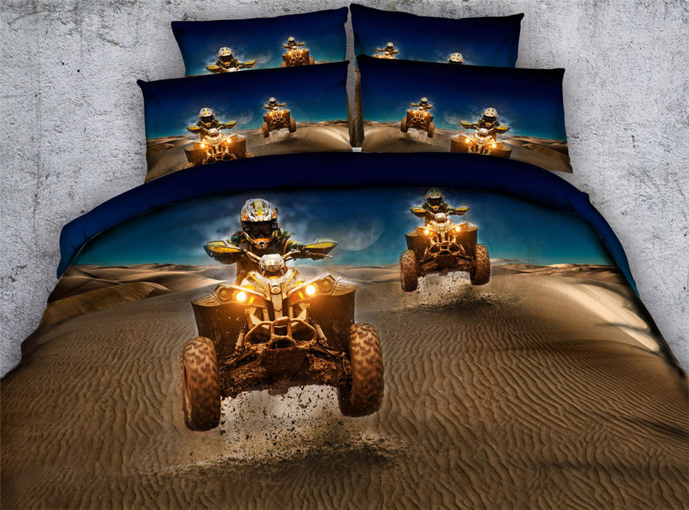 3d printing bedding comforter bedspreads coverlets twin full queen king size Childrens bedroom decor Desert Motorcycle 500TC 4pc3d printing bedding comforter bedspreads coverlets twin full queen king size Childrens bedroom decor Desert Motorcycle 500TC 4pc